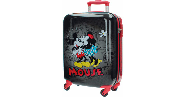 Mickey Mouse Retro Comic Black ABS Spinner