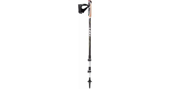 Leki Traveller Aluminium Black/Anthracite 130 cm