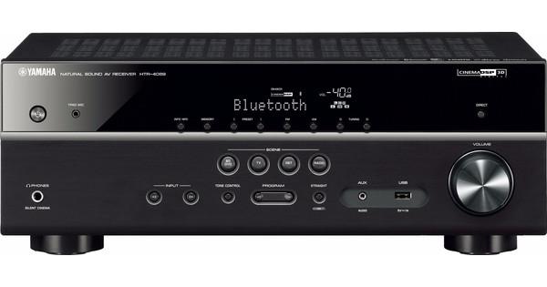 Yamaha HTR-4069 (RX-V481) MusicCast Zwart