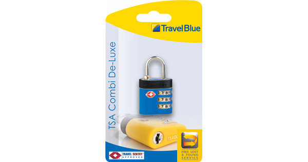 Travel Blue TSA Combi De-Luxe Slot