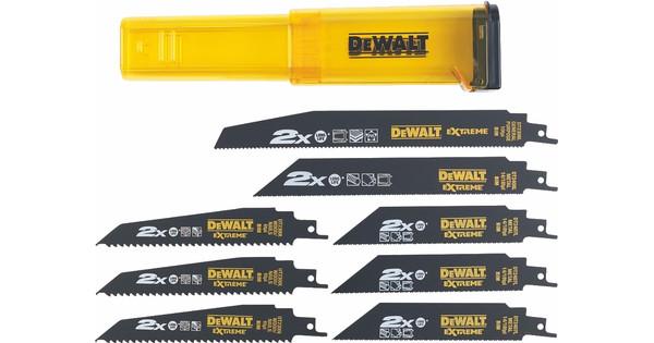 DeWalt Reciprozaagbladenset BiM (8x)
