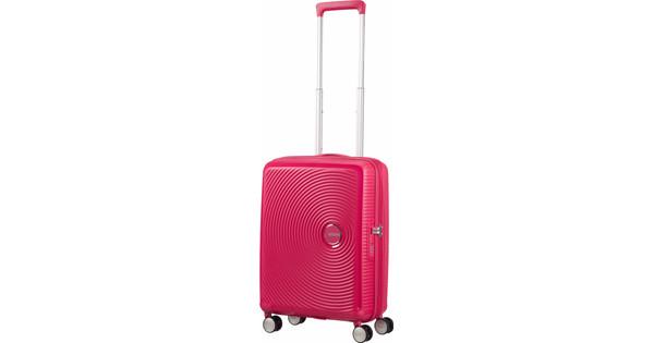 American Tourister Soundbox Expandable Spinner 55cm Lightning Pink