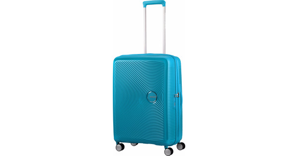 American Tourister Soundbox Expandable Spinner 67cm Summer Blue