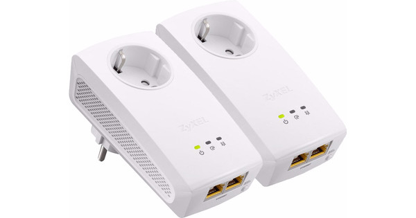 ZyXEL PLA5256 Geen WiFi 1000 Mbps 2 adapters