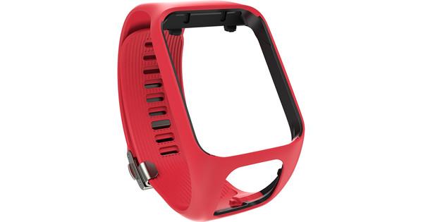 TomTom Premium Polsband Rood L