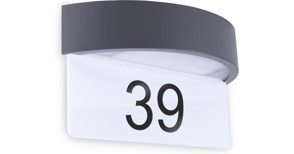 Smartwares 5000704 Wandlamp met Huisnummer