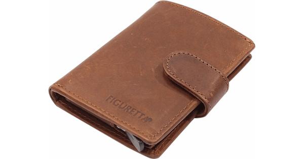 a6939729f25 Figuretta Hunter Leren Card Protector Dark Brown - Coolblue - Voor ...