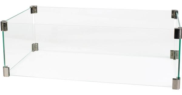 Cosi Fires Glazen Ombouw Rechthoek 70 cm