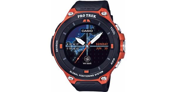Casio Pro Trek Smart Outdoor Orange