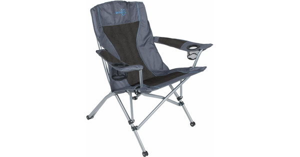 Bo-Camp Vouwstoel Deluxe Comfort Antraciet