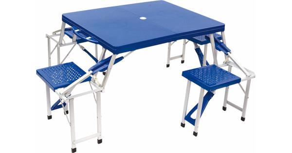 Bo camp family tafel special inklapbaar blauw coolblue alles