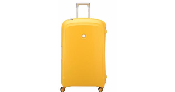 Delsey Belfort Plus Spinner 82cm Yellow