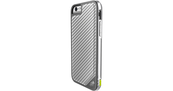 X-Doria Defense Lux Cover Apple iPhone 6/6s Zilver