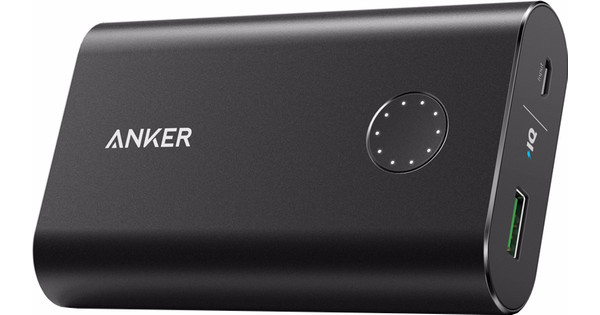 Anker PowerCore+ Powerbank Quick Charge 10.050 mAh Zwart