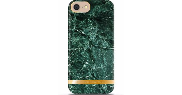 Richmond & Finch Marble Glossy Apple iPhone 7/8 Groen