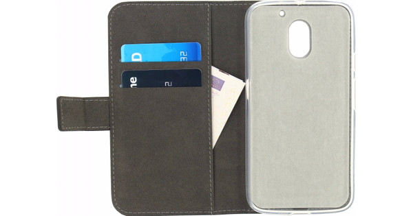 Mobilize Gelly Wallet Book Case Motorola Moto E (Gen 3) Zwart