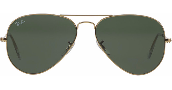1da7e74704938a Ray-Ban Aviator RB3025 58 Gold   Grey Green - Coolblue - Voor 23.59u ...