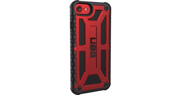 UAG Monarch Apple iPhone 6/6s/7/8 Back Cover Rood