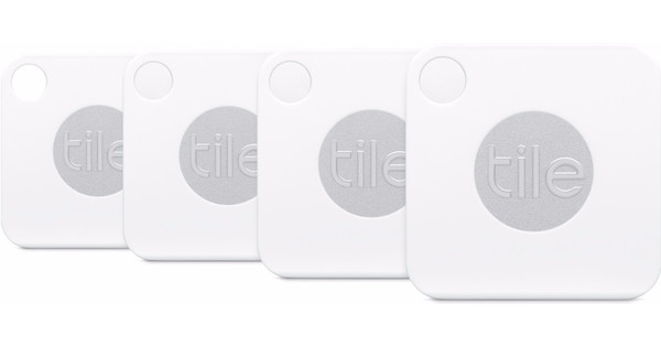 Tile Mate Bluetooth Tracker Four Pack