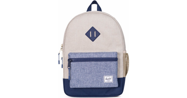 Herschel Heritage Youth LightKhaki Cross/Dark Chamb Cross