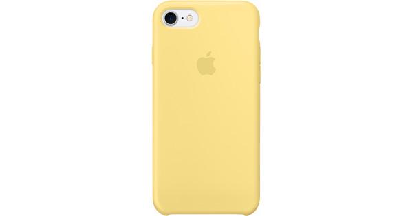 coque apple iphone 8 silicone jaune
