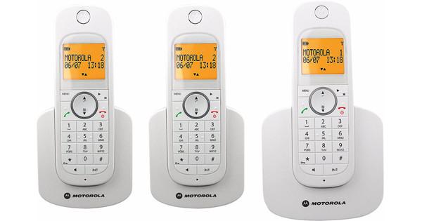 Motorola D1003 Trio Blanc