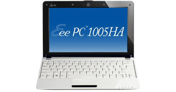 Asus Eee PC 1005HA-H Wit Win7 Azerty