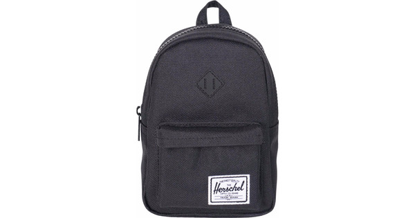 Herschel Heritage Mini Case Black/Black Rubber