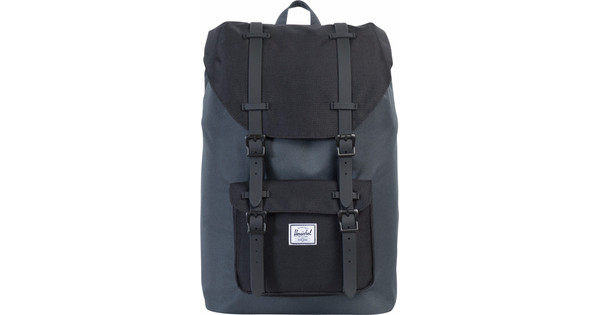 Herschel Little America Mid-Volume Dark Shadow/Black Rubber