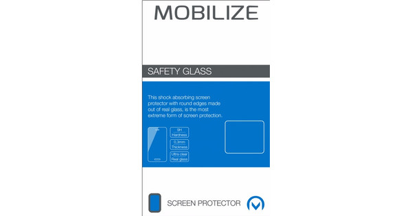 Mobilize Safety Glass Screenprotector OnePlus 5