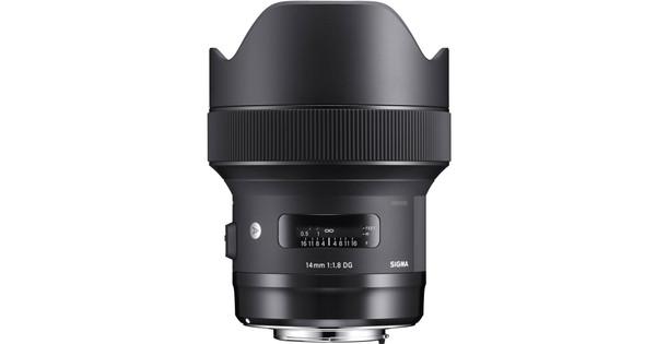 Sigma 14 mm f/1.8 DG HSM Art Canon
