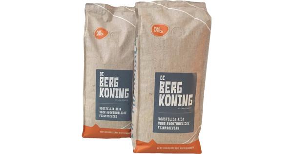 Pure Africa Bergkoning Arabica Grains de Café 2 kg