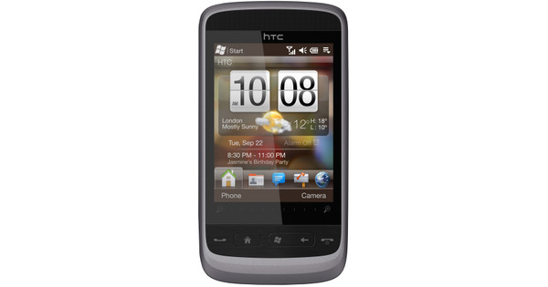 HTC Touch2 Gloss Silver NL