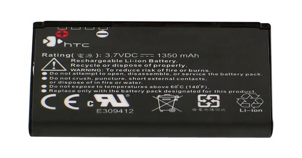 HTC Battery Hero BA-S380 1350 mAh + Thuislader