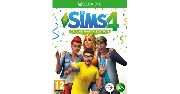 Les Sims 4 Deluxe Party Edition Xbox One