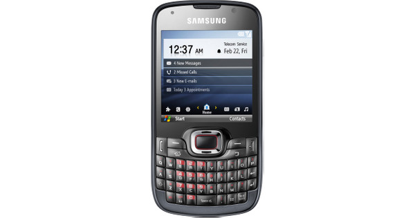 Samsung Omnia Pro B7330 Black QWERTY