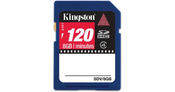 Kingston SD 8 GB SDHC  + Geheugenkaartlezer