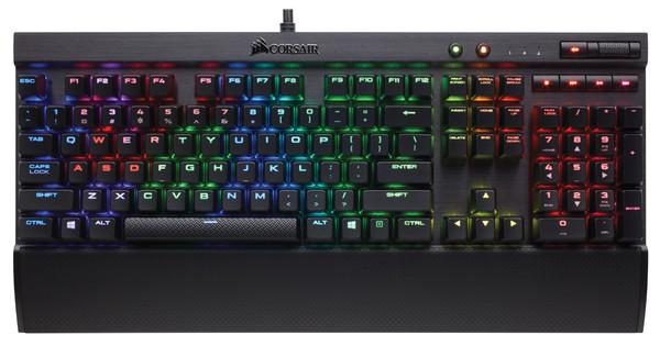 Corsair Gaming K70 LUX RGB MX Silent QWERTY