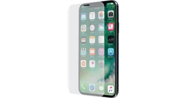Azuri Apple iPhone X/Xs Protège-écran Incurvé Verre trempé