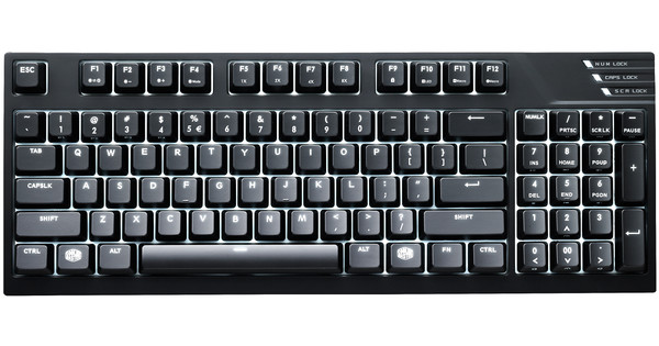 Cooler Master MasterKeys Pro M (Red) QWERTY