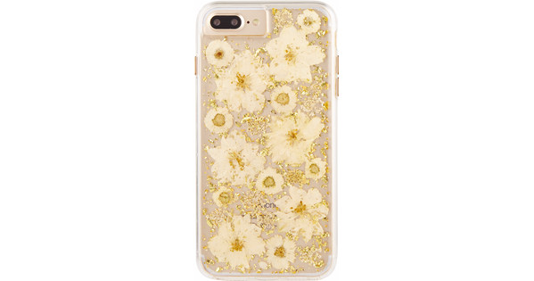 Case-Mate Karat Petals Apple iPhone 7 Plus/8 Plus Back Cover Goud