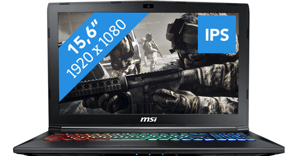 MSI GP62M 7RDX-1264BE Leopard Azerty