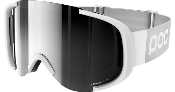 POC Cornea Hydrogen White + Bronze Silver Mirror Lens