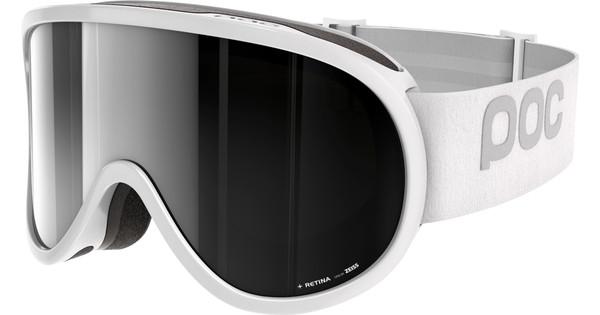 POC Retina Hydrogen White + Bronze Silver Mirror Lens