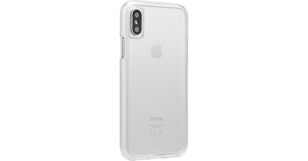 Case-Mate Tough Clear Apple iPhone X Back Cover Transparant