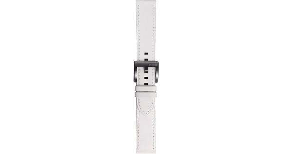 Samsung Gear Sport Bracelet de montre en Cuir Blanc