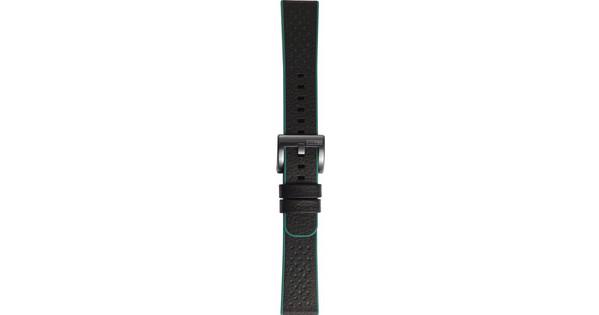Samsung Gear Sport Hybrid Leren/Kunststof Horlogeband Groen