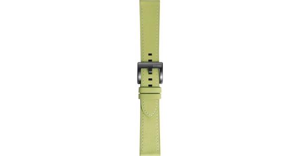 Samsung Gear Sport Leren Horlogeband Groen