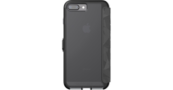 buy online b2a93 d4de9 Tech21 Evo Wallet Apple iPhone 7 Plus/8 Plus Book Case Black