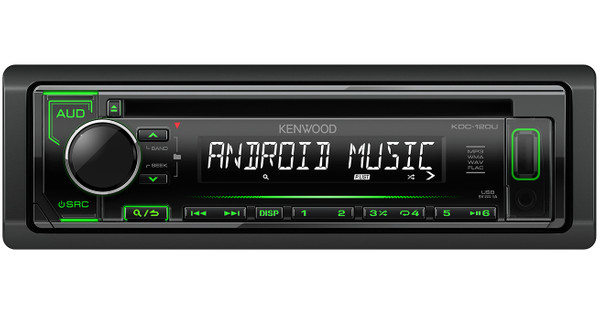 Kenwood KDC-120U Groen